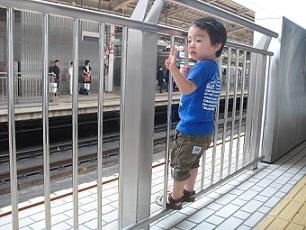 3 新大阪駅ホームs