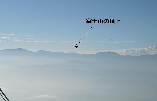 2 南アルプスと富士山の頂上a