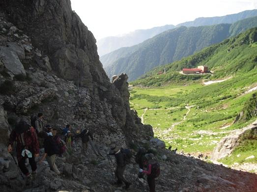 8 登山道を登る(2)