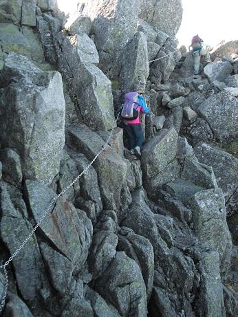 11 宝剣岳への登山ルート