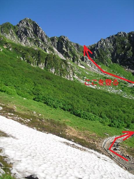 5a 登山ルート