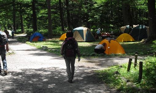 3 小梨平キャンプ場