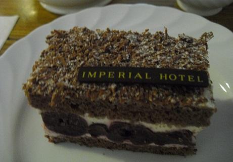 10 チョコレートケーキ