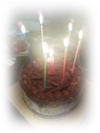純誕生ケーキ