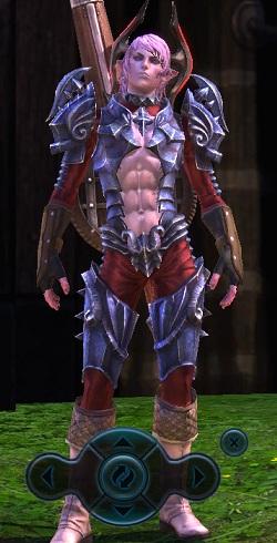 キャス男ティラニアの鎧