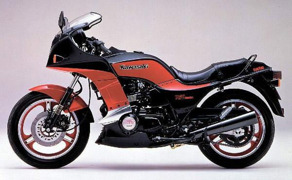 Kawasaki GPZ750 Turbo