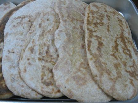 全粒粉でトルコのパン
