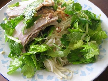 タイ風辛いあえ麺