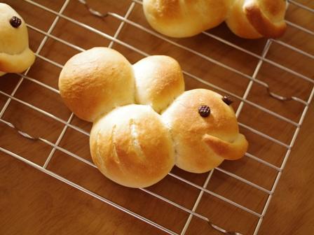 はちみつパン(レシピ)