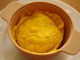 かぼちゃのレンジケーキ04