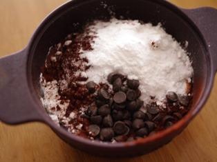 ふわっふわ米粉のレンジケーキ02