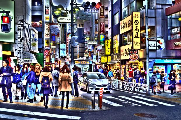 HDR-tokyo-渋谷