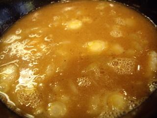 つけ麺弐★゛屋 濃厚煮干しつけ麺(つけ汁)