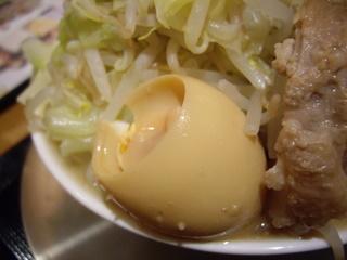ジャンクガレッジ越谷レイクタウン店 ラーメン豚増し 中(味玉)