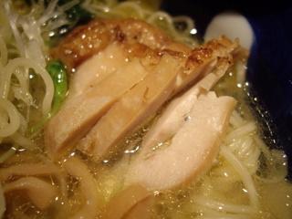 大喜庵 とりそば[塩味](鶏チャーシュー)