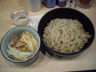 小麦と肉 桃の木 つけ麺 天日塩味