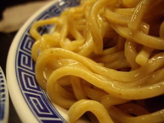 麺やポツリ 濃厚煮干しつけ麺(麺)