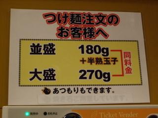 豚麺研究所 麺の量