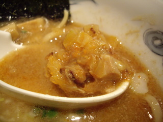 室壱羅麺 羅麺(肉みそ?)