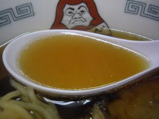だるま軒 醤油ラーメン(スープ)