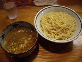 新橋 月と鼈-煮干麺- 濃厚煮干つけ麺