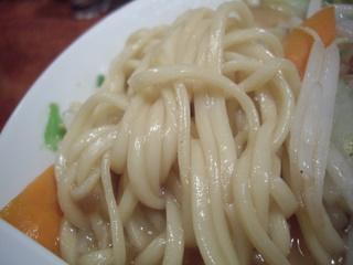 酒と肴と麺の店田村屋 醤油系タンメン(麺)