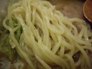 麺や樽 らーめん(麺)-1