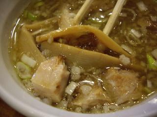 塩つけ麺めいげんそ 塩つけ麺(具)