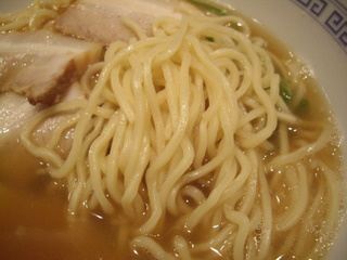麺や百日紅 極上煮干中華蕎麦(麺)