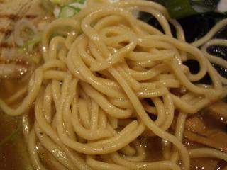 松戸中華そば富田食堂 中華そば(麺)