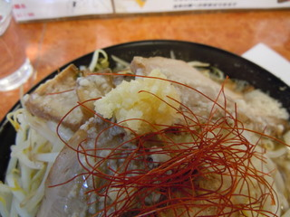 麺賊 夢我夢中 肉増豚基本(ニンニク)