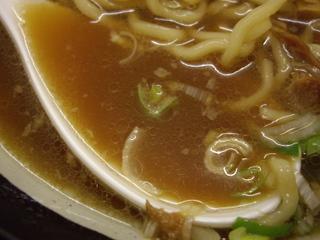 北大塚ラーメン チャーシューめん(スープ)