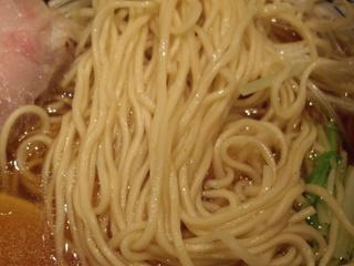 麺屋ほたる 鶏旨味らーめん(麺)