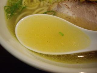 らーめん紬麦 塩ラーメン(スープ)