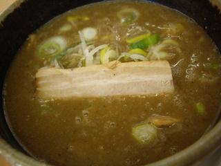 MENYA 食い味の道有楽 つけ麺(つけ汁)