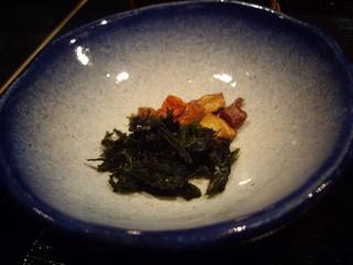 麺処銀笹 銀笹塩ラーメン(薬味)