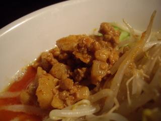 極太野菜味噌 ○助 味噌らぅめん(挽肉)