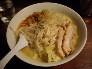 極太野菜味噌 ○助 味噌らぅめん