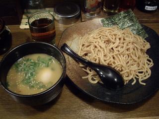銀座利休 塩つけ麺+味玉