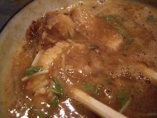 道玄坂マンモス 濃厚つけ麺(具)