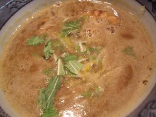 道玄坂マンモス 濃厚つけ麺(つけ汁)