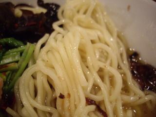 月曜ラーメン『ゲツメン』 濃厚鶏塩ラーメン(麺)