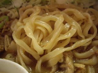 濃厚エキス醤油らーめんどくろ印 肉ドロ濃厚醤油らーめん(麺)