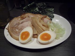 麺や高樹 特製濃厚つけ麺(具)