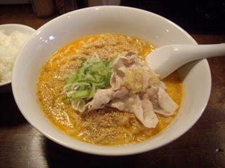 仁 濃厚担々麺[①辛]