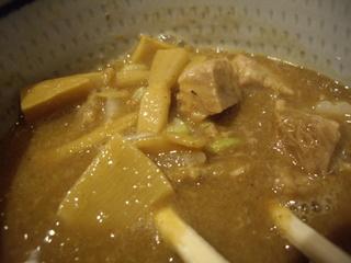 五反田 海月 濃厚つけ麺(具)