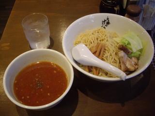 らぁ麺 汁八番 魚介トマトつけ麺