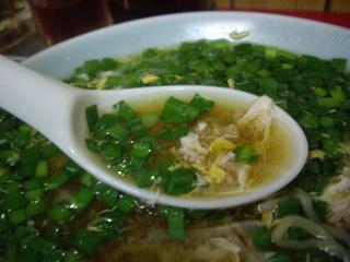 中国料理味味 ニララーメン(スープ)