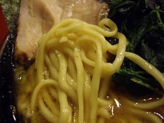 家系総本山 吉村家 ラーメン(麺)