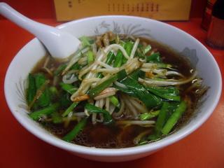 中華料理 新雅 ニラソバ